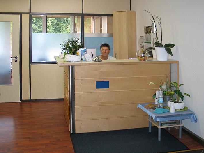 Rezeption - Physio- und Ergotherapie Roman Rumpf in 30453 Hannover
